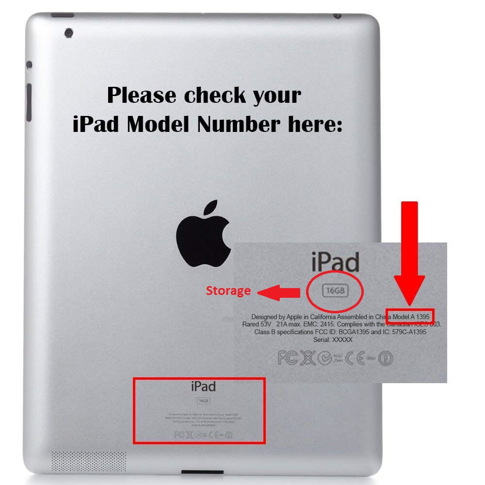 how to check iPad model