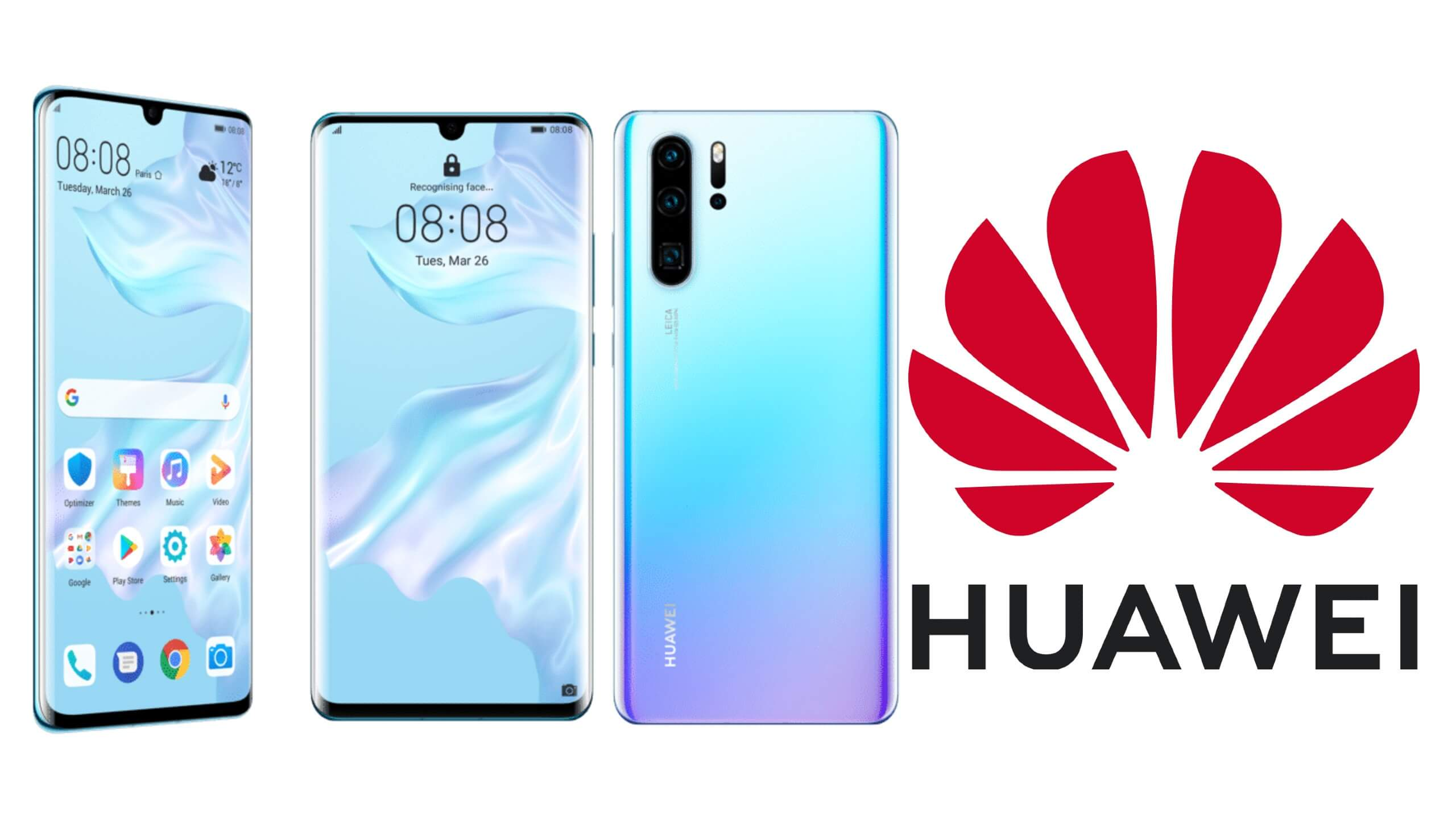 Recycling a Huawei mobile phone