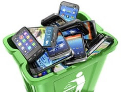 mobile phone recycling in UK