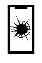 Caracked screen