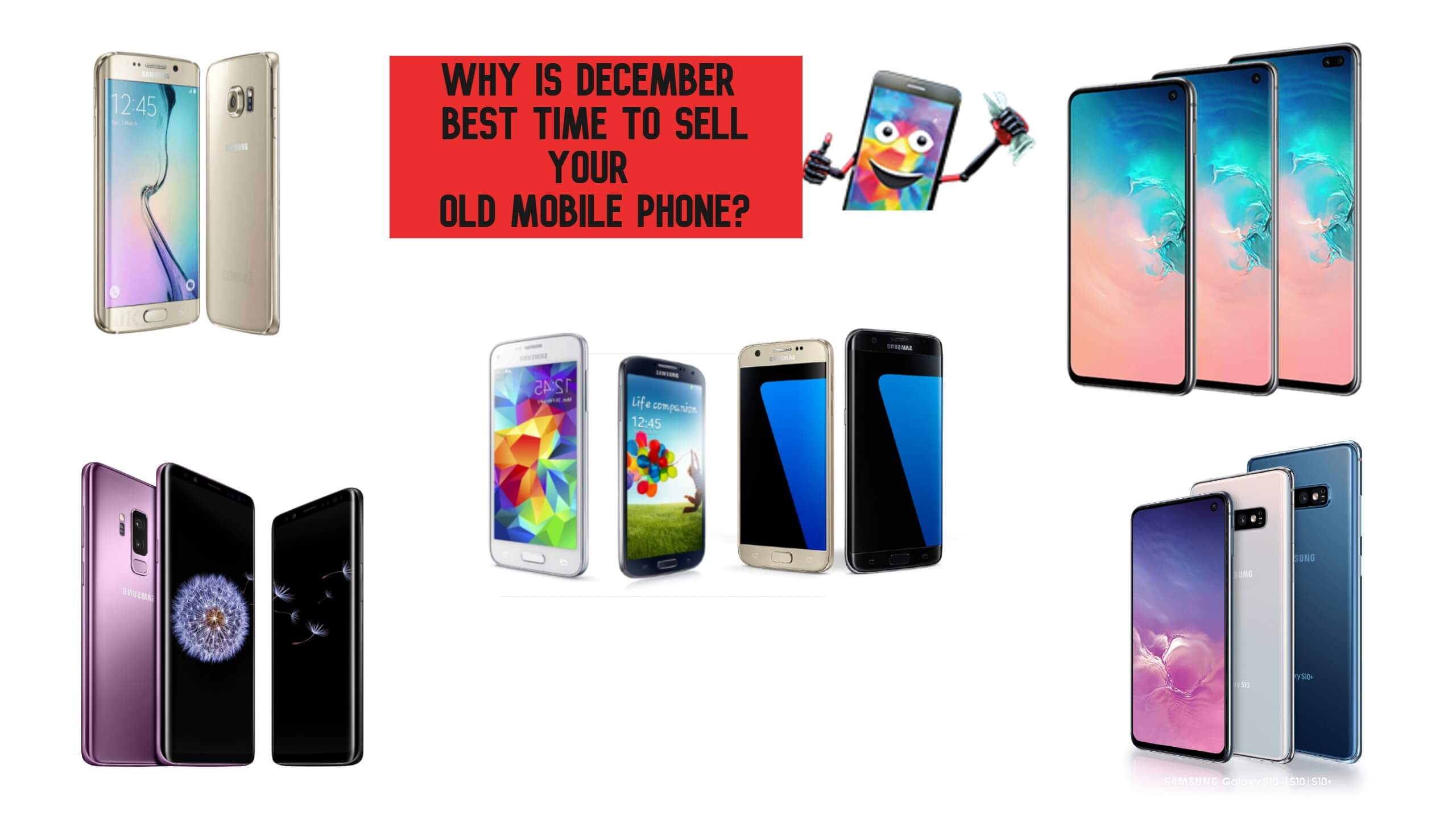 Why is December best time to sell your old mobile phone